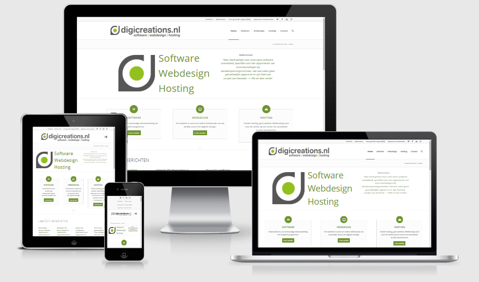 digicreations.nl responsive website
