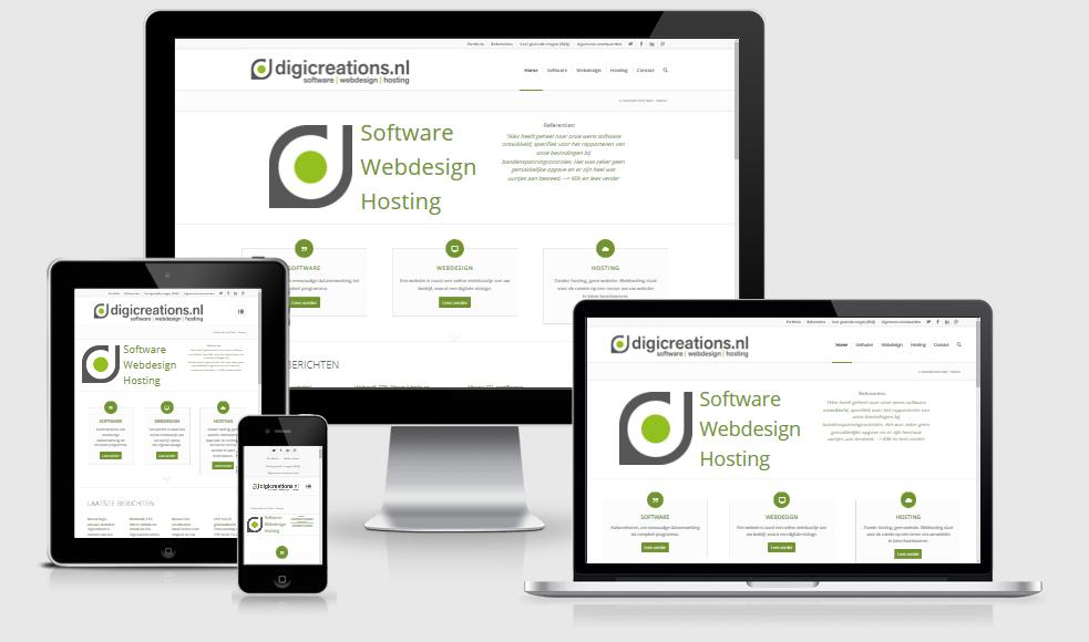 digicreations.nl responsive website